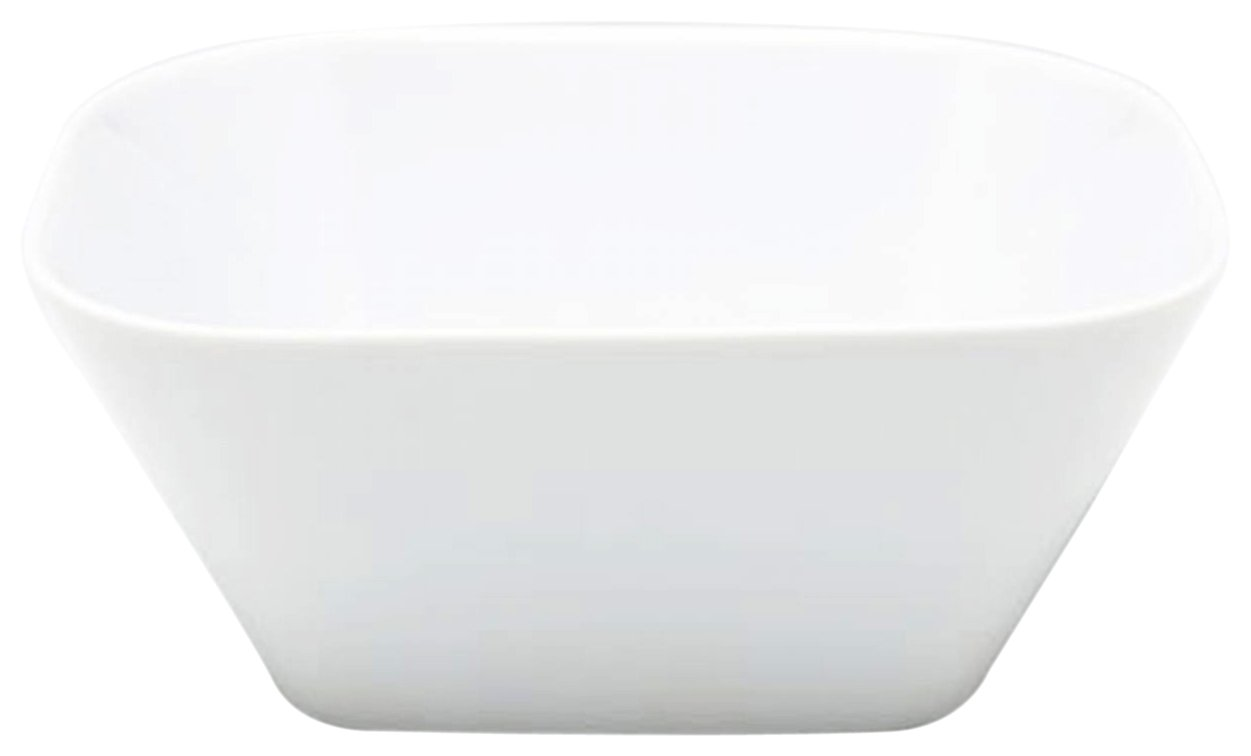 KAHLA Cumulus Bowl Square 6 by 6 Inches, White Color, 1 Piece 422957A90042C
