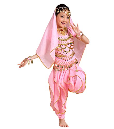 Astage Girl Kids Halloween Party Costume Belly Dance