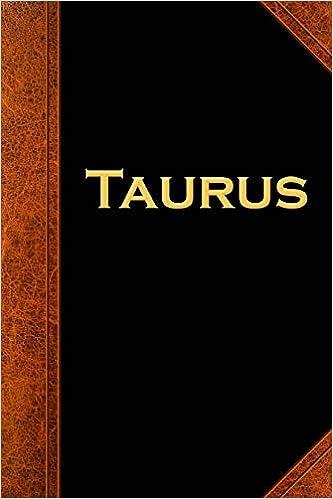 2019 Weekly Planner Taurus Zodiac Horoscope Vintage 134