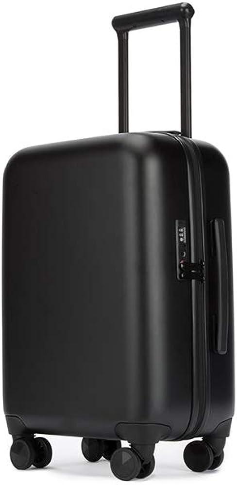 Spinner Luggage Rebecca Minkoff Hardshell 27 in. 4-Wheel with TSA Approved Lock - Matte Black
