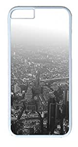iPhone 6 Plus Cases, ACESR Plastic Hard Case Cover for Apple iPhone 6 Plus (5.5inch Screen) White Border London...