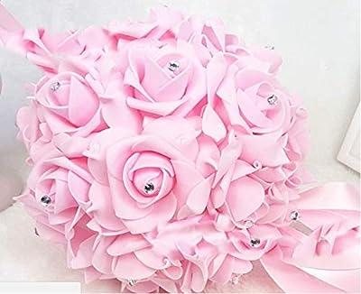 "Ooki - Soft Touch Eva Foam Kissing Ball Wedding Centerpiece with Rhinestone 6"""