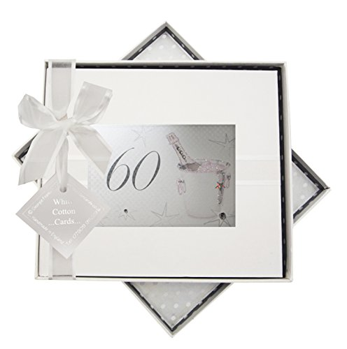 Guest Book Champagne - WHITE COTTON CARDS 60th Birthday, Guest Book, Champagne Bucket
