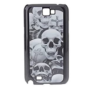 hao 3D Effect Skull Pattern Durable Hard Case for Samsung Galaxy Note 2 N7100