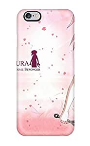 Evelyn C. Wingfield's Shop 7050707K77663356 Scratch-free Phone Case For Iphone 6 Plus- Retail Packaging - Sakura