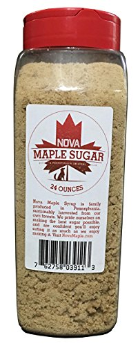 Nova Maple Sugar - Pure Grade-A Maple Sugar (24 Ounces) (The Best Oatmeal Chocolate Chip Cookies In The World Recipe)