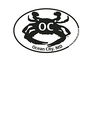 Ocean City Maryland Crab Sticker