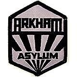 BATMAN Arkham Asylum Sanatorium Uniform Logo PATCH