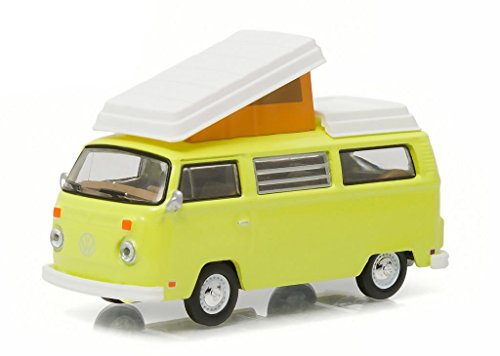 GreenLight 1:64 Club V-Dub Series 3 1973 Volkswagen Type 2 Westphalia Camp Mobile Diecast Vehicle -  29840-D