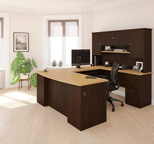 Bestar Manhattan U-shaped Workstation, Secret ()