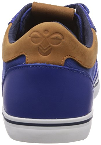 hummel HUMMEL DEUCE COURT PREMIUM - zapatilla deportiva de lona unisex azul - Blau (Limoges Blue 8543)