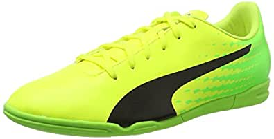 Puma Evospeed 17.5 IT, Botas de Fútbol para Hombre, Amarillo (Safety Yellow-Puma Black-Green Gecko 01), 42 EU