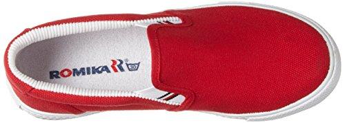 Romika Laser, Zapatillas de Lona Unisex, Adulto Rojo (Carmin)