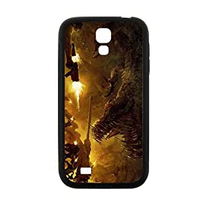 Creative Dinosaur Battle Hot Seller High Quality Case Cove For Samsung Galaxy S4 by Maris's Diary