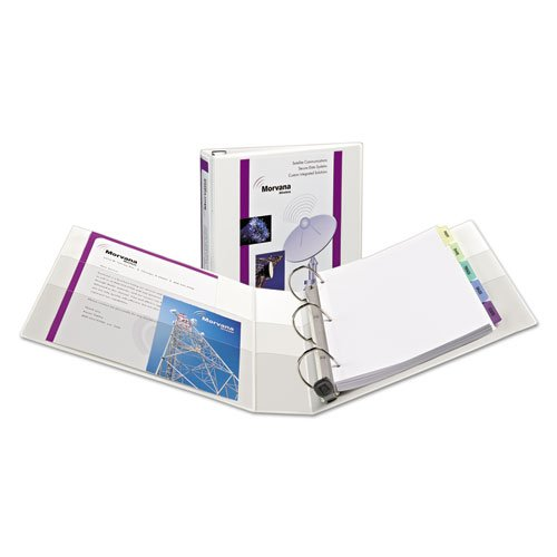 - Extra-Wide Heavy-Duty View Binder w/One Touch EZD Rings, 1 1/2