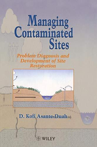 Managing Contaminated Sites: Problem Diagnosis and Development of Site Restoration