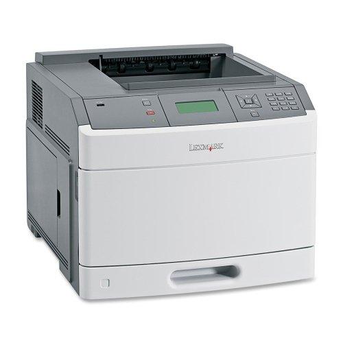 - Lexmark T650N Laser Printer - Monochrome - 1200 x 1200 dpi Print - Plain Paper Print - Desktop - 45 ppm Mono Print - 350 sheets Input - Fast Ethernet - USB