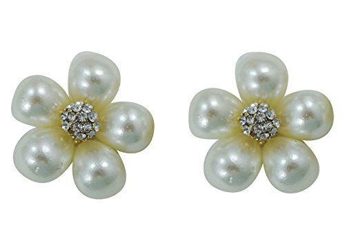 Vintage Bridal white Imitation Pearl Flower (Omaha Bridal Shops)
