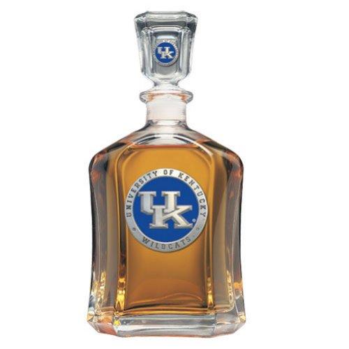 Team Color Logo Kentucky Wildcats Decanter Glass ()