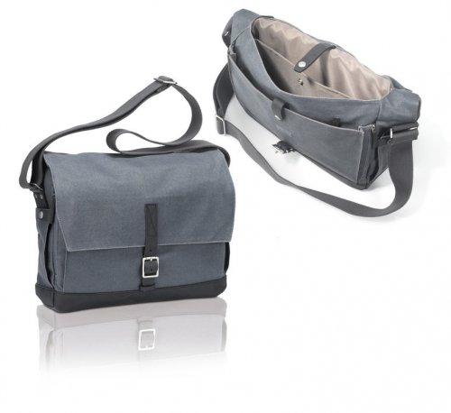 XLC Uni Community Line Messenger Bag, Grau, 35 x 27 x 21 cm