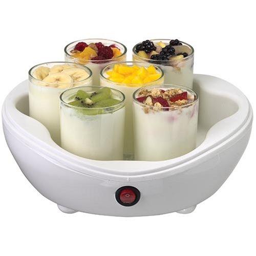 Salton YM7 42-Ounce Electric Yogurt Maker with 7 Glass Jars by Salton
