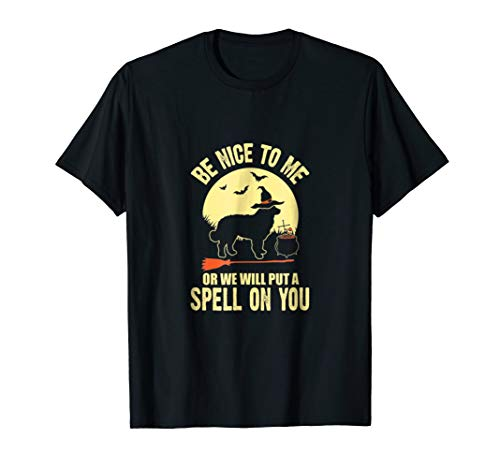 Bernese Mountain Dog Spell on You Halloween Costumes Shirts -