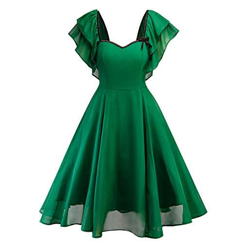 (Elegant Sleeveless Round Neck Sleeveless Knee-Length Empire Bridesmaid Dress Ball Gown)