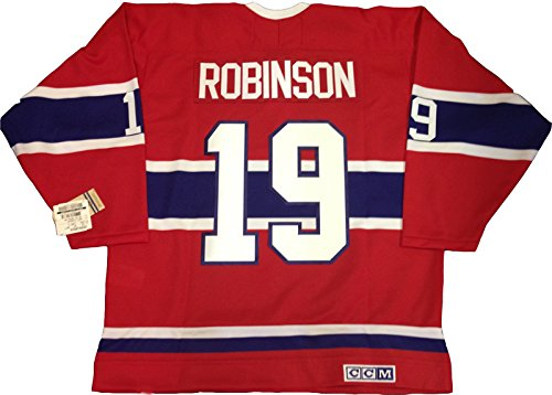 Larry Robinson Montreal Canadiens 1973 CCM vintage jersey Reebok/CCM