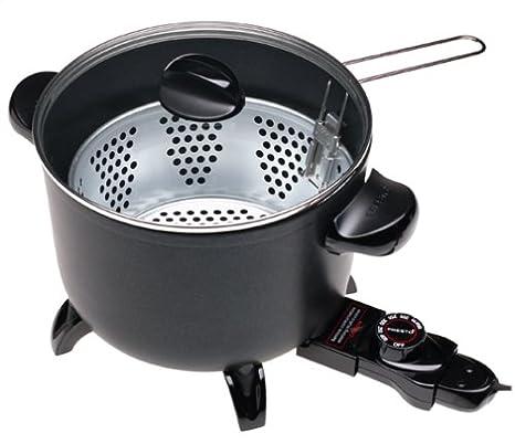 amazon com presto kitchen kettle multi cooker deep fryer kitchen rh amazon com presto kitchen kettle multi-cooker steamer presto kitchen kettle multi-cooker steamer 06000