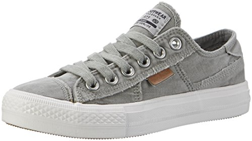 Womens Dockers - Dockers by Gerli 40th201-790850, Women's Low-Top Sneakers, Gray (Khaki 850),6.5 UK (40 EU)