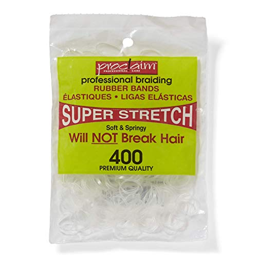 Proclaim Rubber Bands Clear 400 Count Clear ()