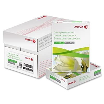 Xerox 3R11767 Copy/Printer Paper,100 GE/114 ISO,60Lb,8-1/2 in.x11 in.,250/RM,WE by Xerox