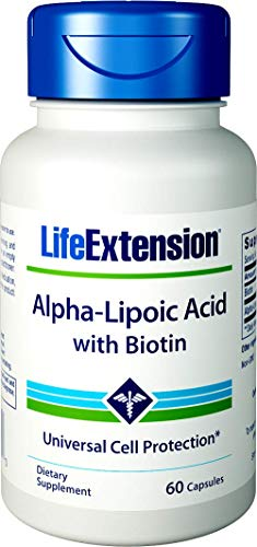 Life Extension  Alpha Lipoic with Biotin 250 Mg, 60 Capsules Review