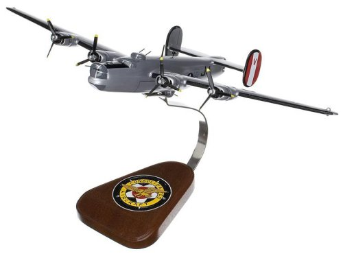 Mastercraft Collection Consolidated B-24J Liberator (Silver) Model Scale:1/72 (B 24j)