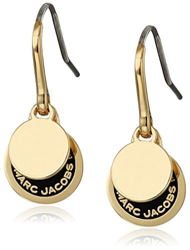 Logo Disc Earrings (Marc Jacobs Logo Disc Enamel Earrings )