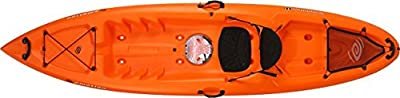90464 Emotion Temptation Sit-On-Top kayak, Tangerine, 11' by Lifetime OUTDOORS