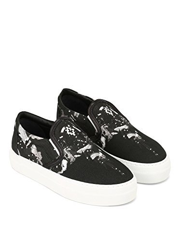 MARCELO BURLON Women's CWIA052R187260961088 Black Fabric Slip On Sneakers best prices buy cheap cheapest price clearance shop offer sast cheap online cheap sale brand new unisex ktsakFtA