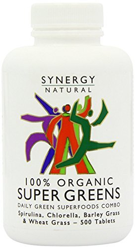 Synergy Natural Org Super Greens 500 tablet - CLF-SYN-BGO500T by Synergy Natural by Synergy Natural