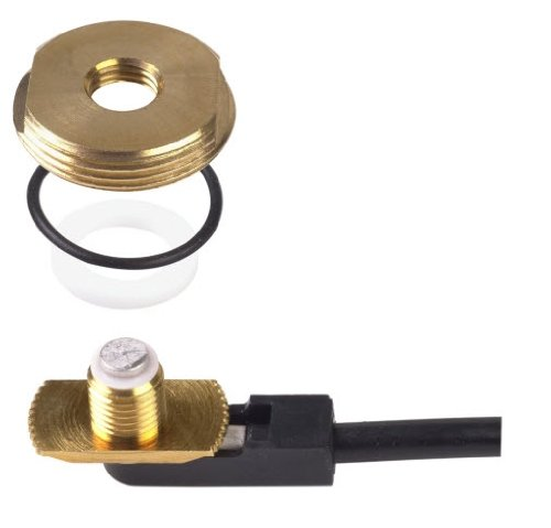 No 3/4 Brass Connector Mount (PCTEL Maxrad - 3/8-3/4
