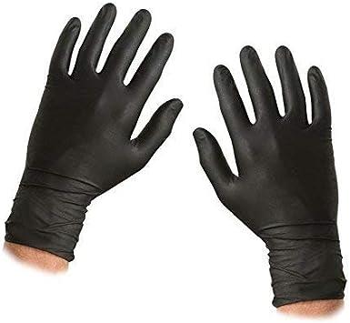 Guantes desechables de ASC, de nitrilo, tamaño XL, con relieve sin polvo ni látex, 100 guantes (50 pares): Amazon.es: Bricolaje y herramientas
