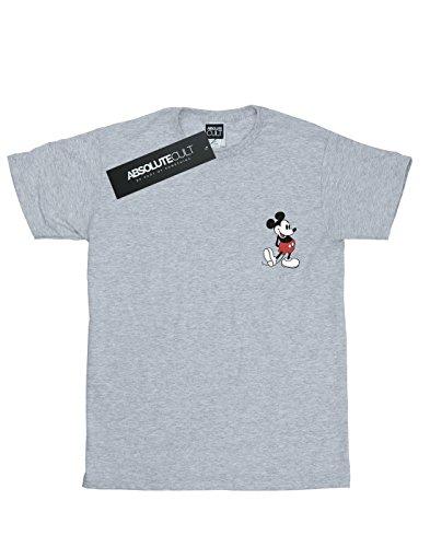 Disney Homme Sport Mickey Pocket Kickin Gris Retro T Mouse shirt vU6vxq