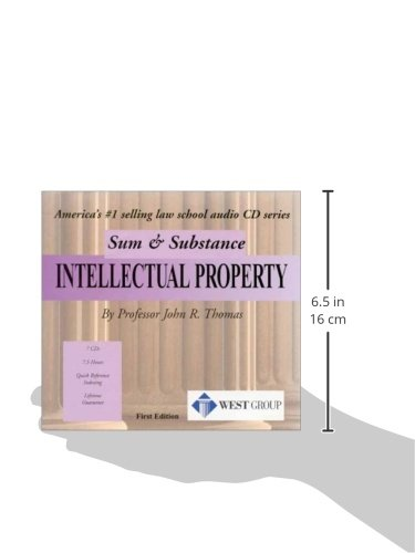 Sum and Substance Audio on Intellectual Property by West Academic Publishing