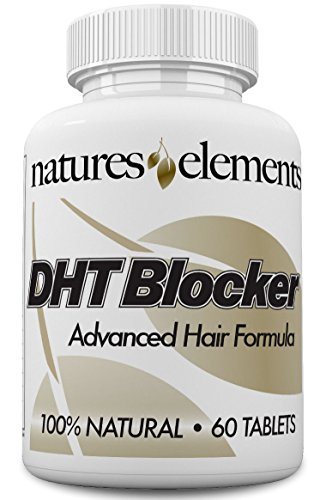 (DHT Blocker For Hair Growth And Gray Hair - Unique DHT Blocking Vitamin And Herbal Formula For Hair Regrowth And Gray Hair with He Shou Wu - For Men And Women! - 1 Month Supply - Vegetarian Safe)