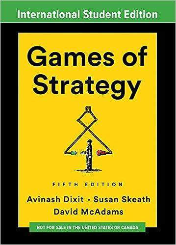 GAMES OF STRATEGY INTERNATIONAL STUDENT EDITION: Amazon.es: Avinash K. Dixit: Libros en idiomas extranjeros