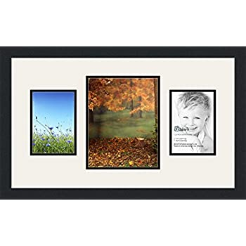 Amazon.com - ArtToFrames Collage Photo Frame Double Mat with 1-8x10 ...