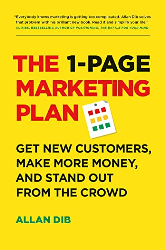 The 1-Page Marketing Plan Paperback – 24 May 2018
