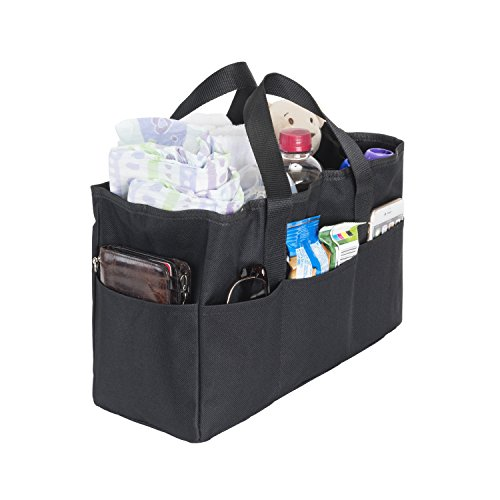 Diaper Bag Insert Organizer for Mom with 5 Outside & 6 Inside Storage Pockets - Transform Any Mom
