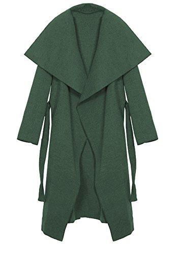 Trenchcoat et One Femme Kendindza Long Manteaux Kaki court Size long Collection 4Iaxq0nqt