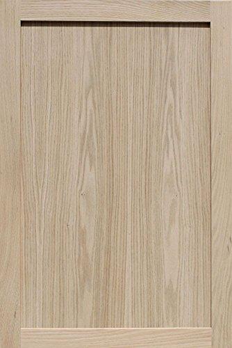 Unfinished Oak Shaker Cabinet Door by Kendor, 36H x 24W