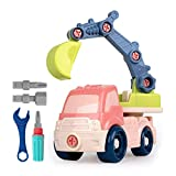 RTWAY Take Apart Toys Set Construction Vehicle Set Learning Educational Engineering Set Toys Best...